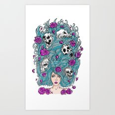 Lady Nature. Art Print