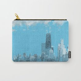 Chicago - Light blue Carry-All Pouch