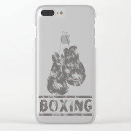 Boxing Clear iPhone Case