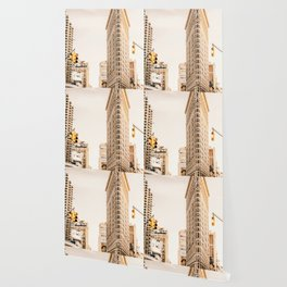 Vintage Flat Iron Building NYC (Color) Wallpaper