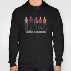 The Usual Suspect casual fashion style Hoody