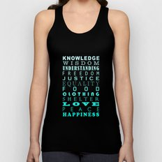 The Jewels Of Life Unisex Tank Top