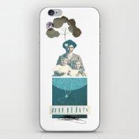 howl iPhone & iPod Skins featuring HOWL// by Matt McCann
