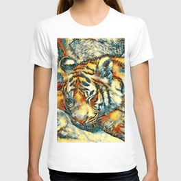 AnimalArt_Tiger_20170606_by_JAMColorsSpecial T-shirt