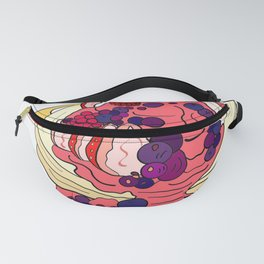 Very Berry Pancakes Fanny Pack