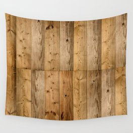 Wood 6 Wall Tapestry