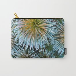 Star Plant Teal Carry-All Pouch
