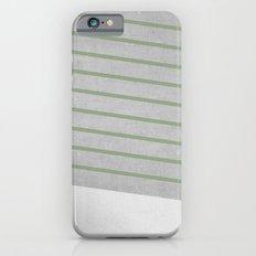 Concrete & Stripes II Slim Case iPhone 6s