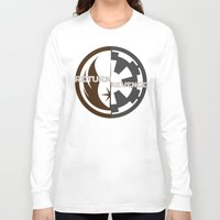 return Long Sleeve T-shirts featuring Return/Revenge by Fanboy's Canvas