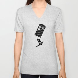 Doctor Who - Mad Men Unisex V-Neck