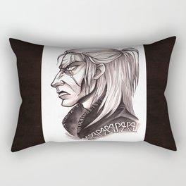 Geralt Black&White Rectangular Pillow