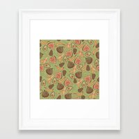 fig Framed Art Prints featuring Fig by Meredith Miotke
