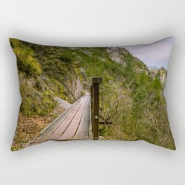 A day in the Alps Rectangular Pillow