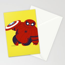 Spider Man x Baymax (Spidermax) Stationery Cards