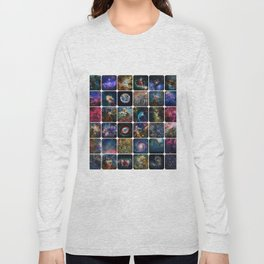 The Amazing Universe - Collection of Satellite Imagery Long Sleeve T-shirt