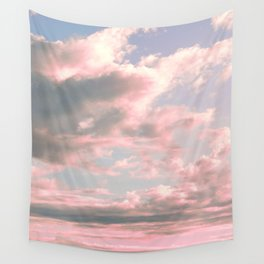 Delicate Sky Wall Tapestry