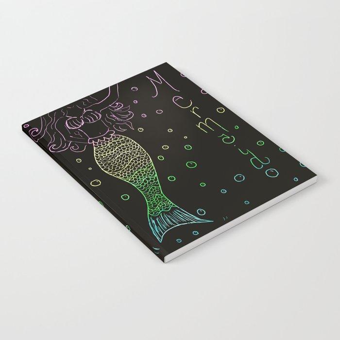 Mermaid In The Dark Notebook