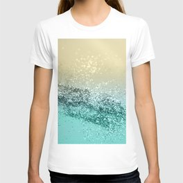 Lemon Twist Beach Glitter #2 #shiny #decor #art #society6 T-shirt