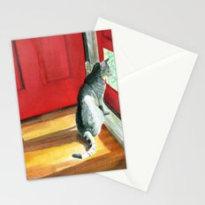 Quigley the Door Cat Stationery Cards
