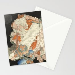 Sôjôbô, the king of the mythical mountain creatures Stationery Cards