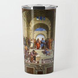"Raphael, "" The School of Athens "" Travel Mug"