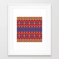 native Framed Art Prints featuring Native by Arcturus