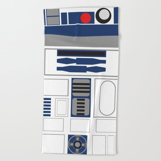 Star Wars R2D2 Beach Towel