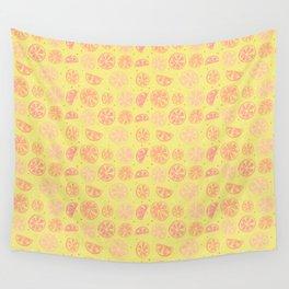 Paloma Grapefruit Wall Tapestry