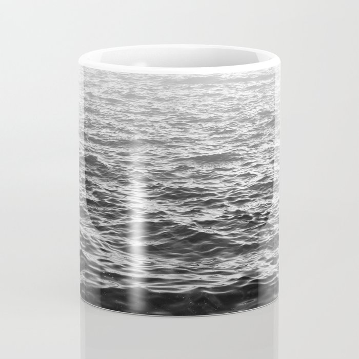 Water Minimalism Photography Sea Waves and Ocean Coffee Mug