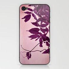 wisteria leaves iPhone & iPod Skin