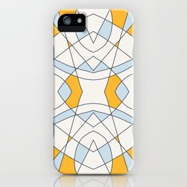 Abstract Retro Colored Church Window iPhone Case