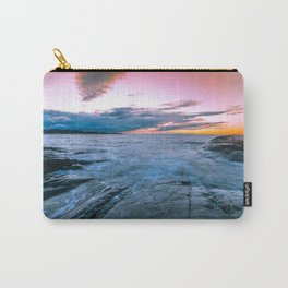 Arctic sunset Carry-All Pouch