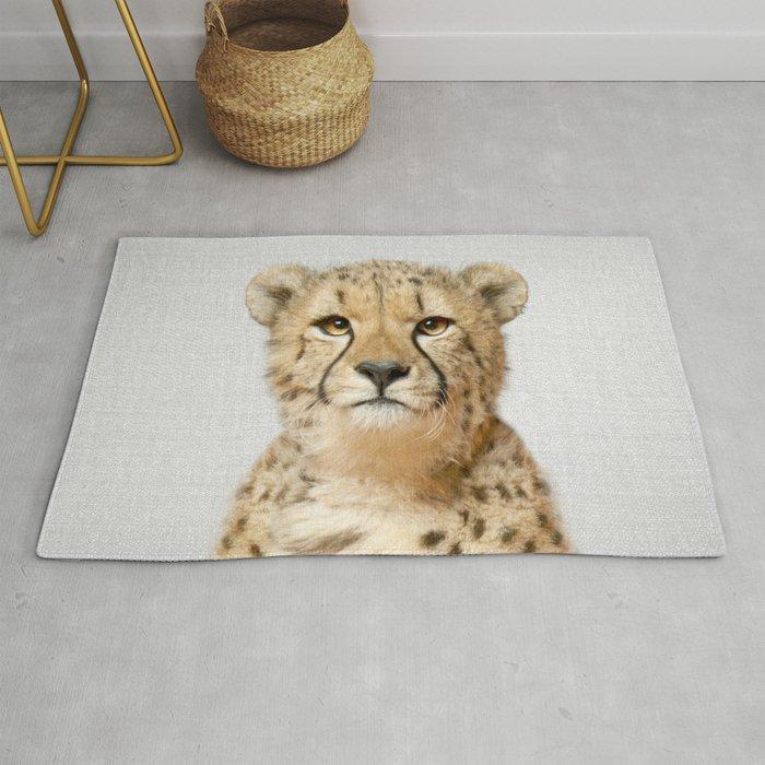 Cheetah - Colorful Rug