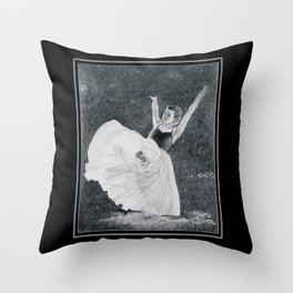 Dancing on a Cloud Throw Pillow