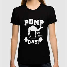 Pump Day Graphic Camel Workout T-shirt T-shirt