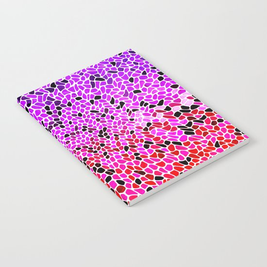 THINK LILAC CORAL Notebook