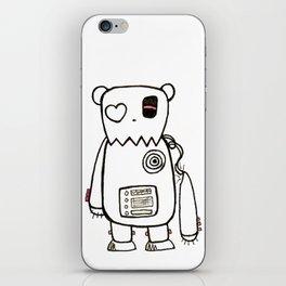 robo bear iPhone Skin