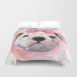 Cute Bulldog Duvet Cover