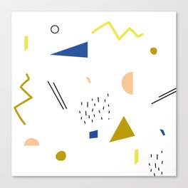 terrazzo confetti Canvas Print