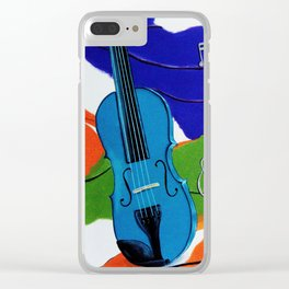 Waves of Music Clear iPhone Case