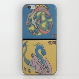 """Gran Drago"" by ICA PAVON iPhone Skin"