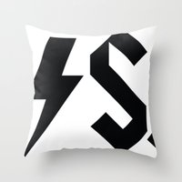 carl sagan Throw Pillows featuring Hell Yeah, Carl Sagan by Carl & Co