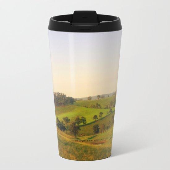 Daylight & Shadows Metal Travel Mug