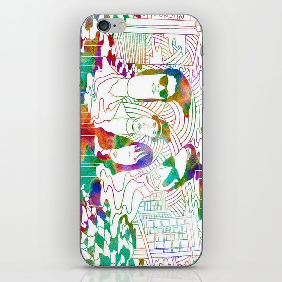 """Bosnian Rainbows"" by Steven Fiche iPhone & iPod Skin"