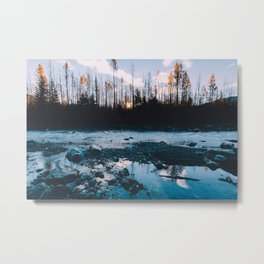 Rising Sun - Kenai Fjords National Park Metal Print