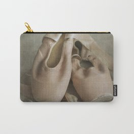 Creamy pointe ballet shoes Carry-All Pouch