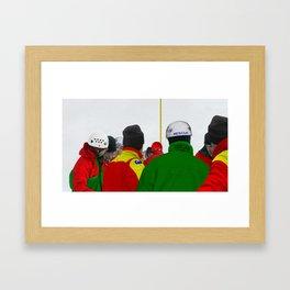 The Rescue IV Framed Art Print