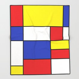 Abstract #758 Throw Blanket