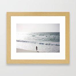 T L V Framed Art Print