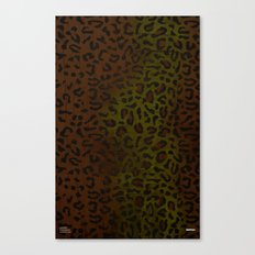 Modern Woodgrain Camouflage / Zaire KDP Print Canvas Print